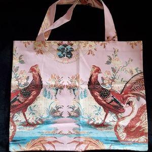 Roberto Cavalli Hand Painted Large Tote Bag NWOT!